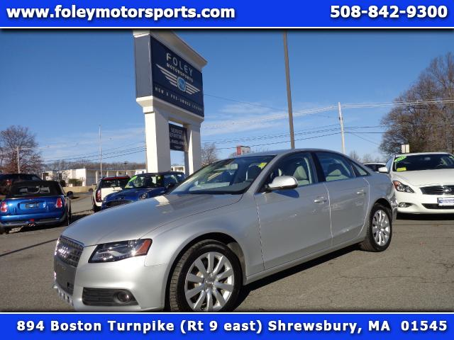 2012 AUDI A4 AWD 20T quattro Premium 4dr Sedan 8A 4x4 Air Conditioning Alarm System Alloy Wheel