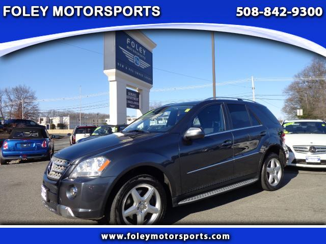 2010 Mercedes M-Class AWD ML550 4MATIC 4dr SUV 4x4 Air Conditioning Alarm System Alloy Wheels A
