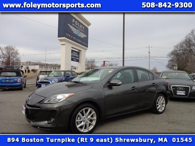 2012 MAZDA MAZDA3 s Grand Touring 4dr Sedan 6M Air Conditioning Alarm System Alloy Wheels AMFM