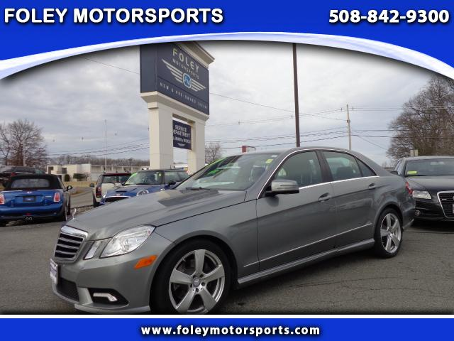 2011 Mercedes E-Class AWD E350 4MATIC Luxury 4dr Sedan Air Conditioning Alarm System Alloy Wheels