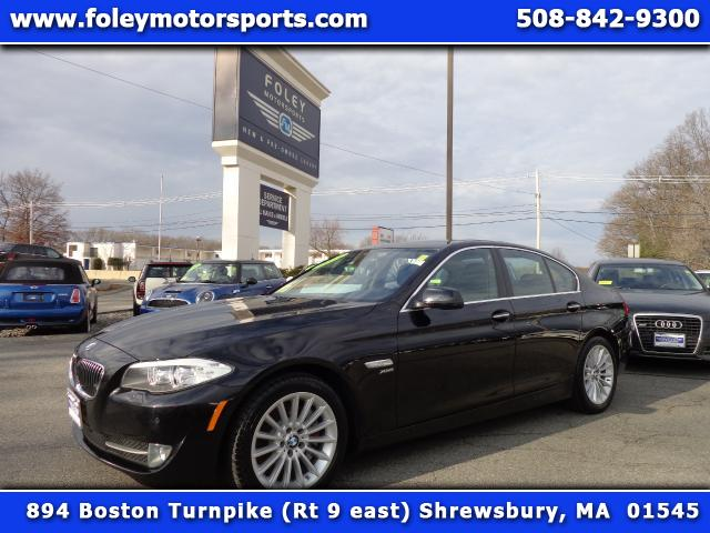 2011 BMW 5-Series AWD 535i xDrive 4dr Sedan 4x4 Air Conditioning Alarm System Alloy Wheels AMF