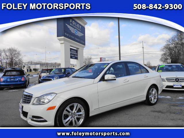 2012 Mercedes C-Class AWD C300 4MATIC Luxury 4dr Sedan 4x4 Air Conditioning Alarm System Alloy W
