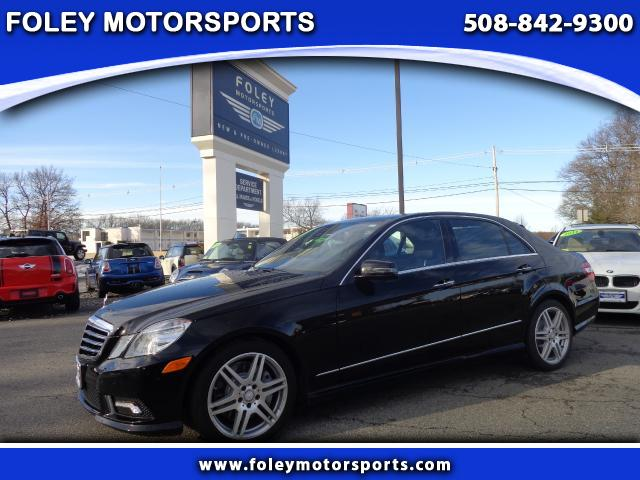 2010 Mercedes E-Class AWD E550 4MATIC Luxury 4dr Sedan Air Conditioned Seats Air Conditioning Ala