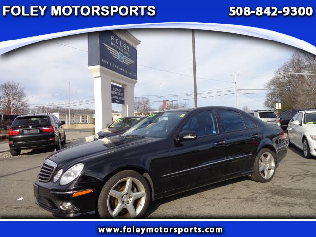 2009 Mercedes E-Class AWD E550 4MATIC 4dr Sedan 4x4 Air Conditioned Seats Air Conditioning Alarm