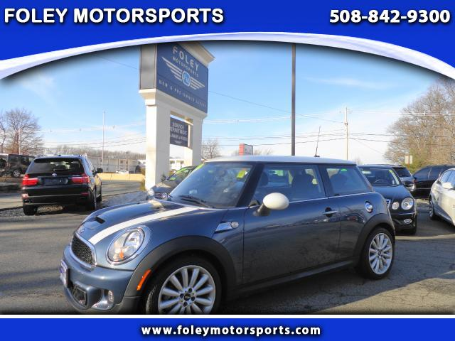 2011 MINI Cooper S 2dr Hatchback Air Conditioning Alarm System Alloy Wheels AMFM Anti-Lock Bra