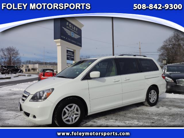 2007 HONDA Odyssey EX-L 4dr Minivan wDVD Air Conditioning Alarm System Alloy Wheels AMFM Anti