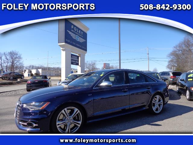 2013 AUDI S6 AWD 40T quattro Prestige 4dr Sedan 4x4 Air Conditioning Alarm System Alloy Wheels