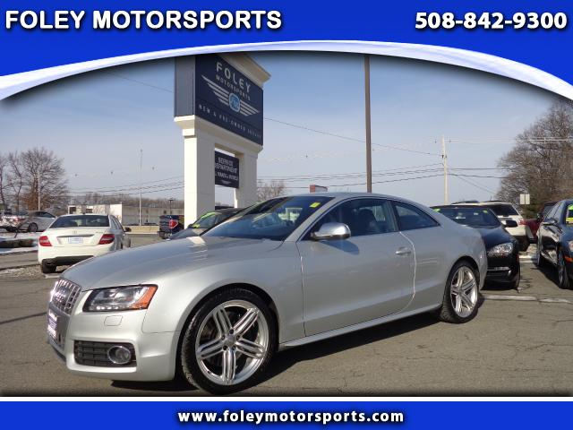 2011 AUDI S5 AWD 42 quattro Prestige 2dr Coupe 6A 4x4 Air Conditioning Alarm System Alloy Wheel