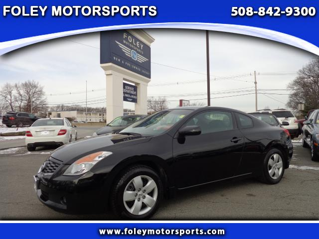 2008 NISSAN Altima 25 S 2dr Coupe CVT Air Conditioning Alarm System AMFM Anti-Lock Brakes Car