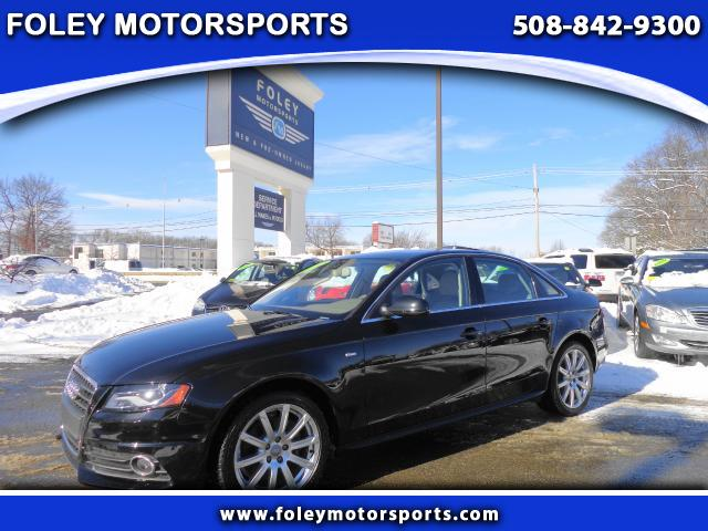2012 AUDI A4 AWD 20T quattro Prestige 4dr Sedan 8A 4x4 Air Conditioning Alarm System Alloy Whee