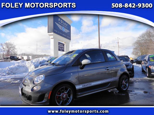 2013 FIAT 500 Abarth 2dr Hatchback Air Conditioning Alarm System Alloy Wheels Anti-Lock Brakes