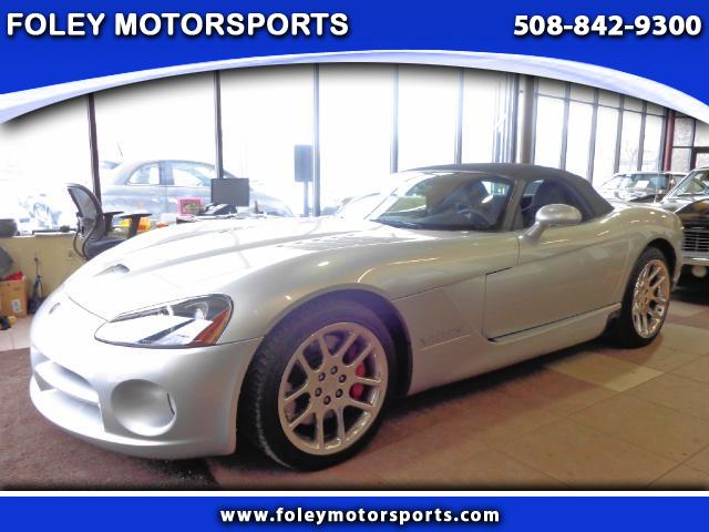 2004 DODGE Viper 2 Dr SRT-10 Convertible Adjustable Pedals Air Conditioning Alarm System Alloy W
