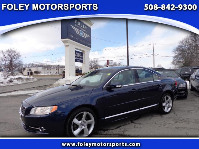 2010 VOLVO S80 AWD T6 4dr Sedan 4x4 Air Conditioning Alarm System Alloy Wheels AMFM Anti-Lock