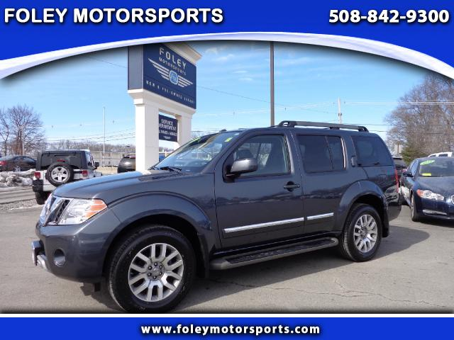 2011 NISSAN Pathfinder 4x4 LE 4dr SUV 4x4 Adjustable Pedals Air Conditioning Alarm System Alloy
