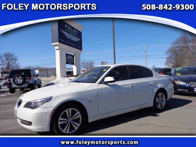 2010 BMW 5-Series AWD 528i xDrive 4dr Sedan 4x4 Air Conditioning Alarm System Alloy Wheels AMF