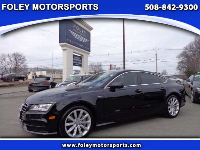 2012 AUDI A7 AWD 30T quattro Prestige 4dr Sedan 4x4 Air Conditioning Alarm System Alloy Wheels