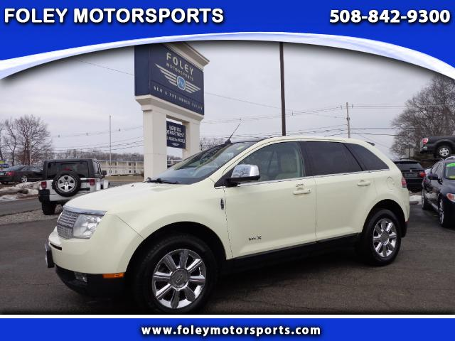 2008 LINCOLN MKX AWD 4dr SUV 4x4 Air Conditioned Seats Air Conditioning Alarm System Alloy Whee