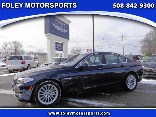 2013 BMW 5-Series AWD 535i xDrive 4dr Sedan 4x4 Air Conditioning Alarm System Alloy Wheels Anti