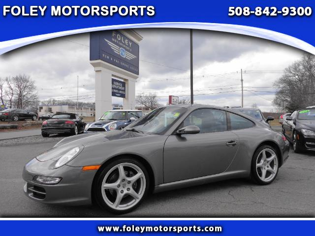 2007 PORSCHE 911 Carrera 2dr Coupe Air Conditioning Alarm System Alloy Wheels AMFM Anti-Lock B