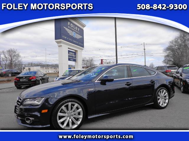 2012 AUDI A7 AWD 30T quattro Prestige 4dr Sedan 4x4 Air Conditioned Seats Air Conditioning Alar