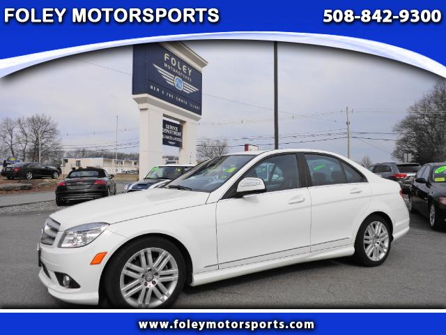2008 Mercedes C-Class AWD C300 4MATIC Luxury 4dr Sedan Air Conditioning Alarm System Alloy Wheels