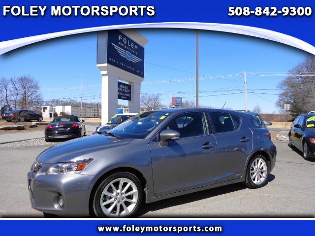 2012 LEXUS CT 200h Premium 4dr Hatchback Air Conditioning Alarm System Alloy Wheels AMFM Anti-
