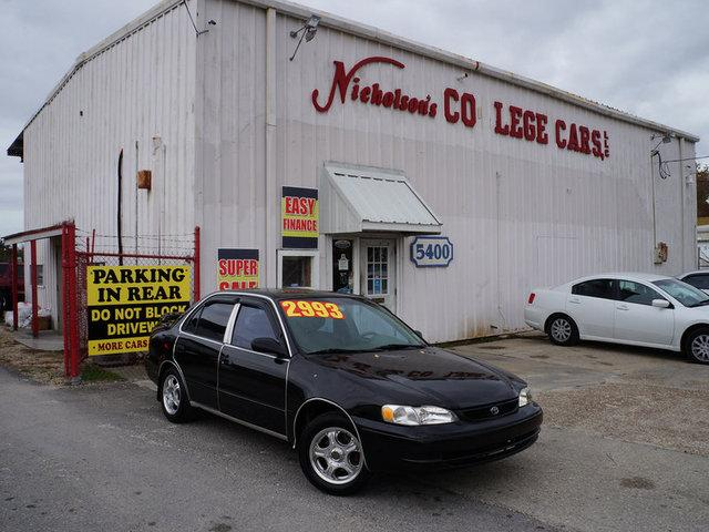 1998 Toyota Corolla Visit Nicholsons College Cars online at wwwnicholsoncarscom to see more pictu