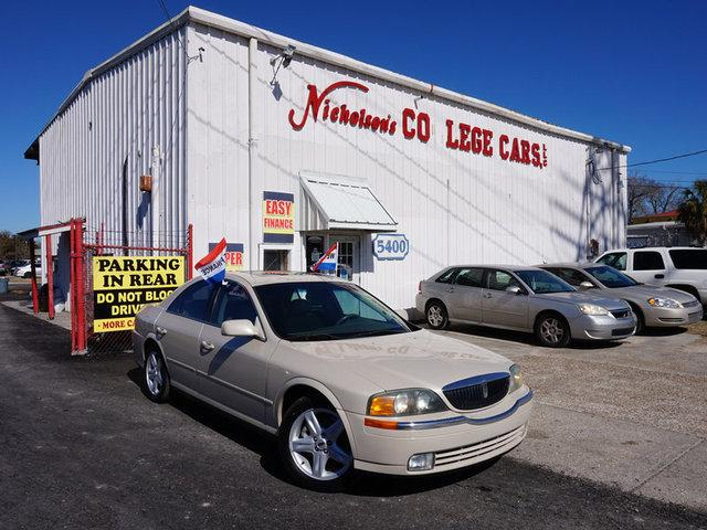 2002 Lincoln LS Visit Nicholsons College Cars online at wwwnicholsoncarscom to see more pictures