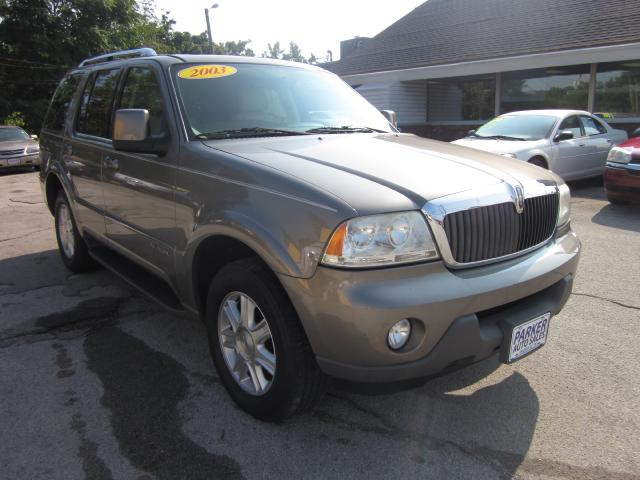 2003 Lincoln Aviator THE HOME OF THE 299 TOTAL DOWN PAYMENT Visit Parker Auto Sales online at wwwp