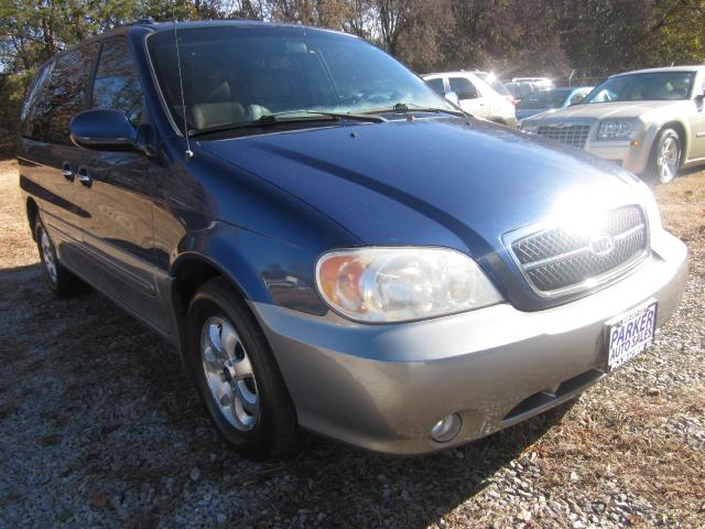 2004 Kia Sedona THE HOME OF THE 299 TOTAL DOWN PAYMENT Visit Parker Auto Sales online at wwwparker
