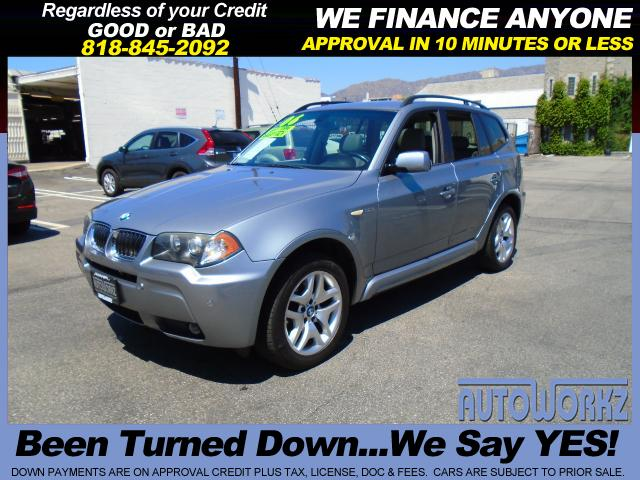 2006 BMW X3 Join our Family of satisfied customers We are open 7 days a week trade in welcome apr r