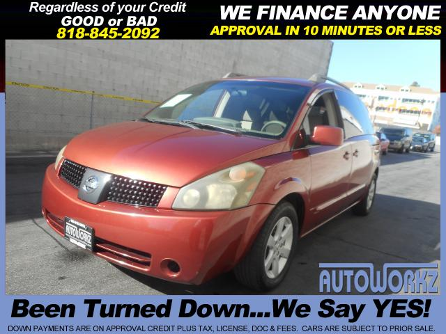 2004 Nissan Quest Join our Family of satisfied customers We are open 7 days a week trade in welcome