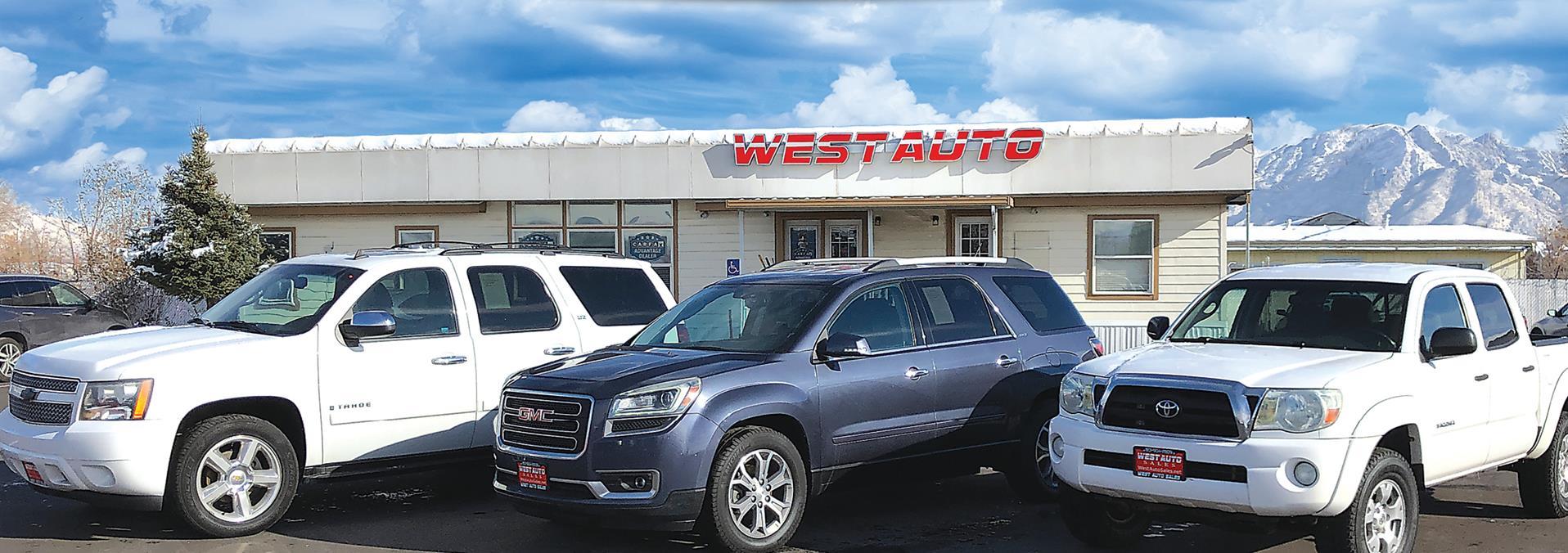 West Auto Sales >> Used Cars West Valley City Ut Used Cars Trucks Ut West