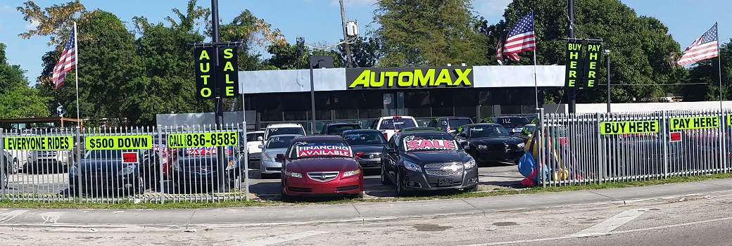 Buy Here Pay Here Miami >> Used Cars Miami Fl Used Cars Trucks Fl Auto Max