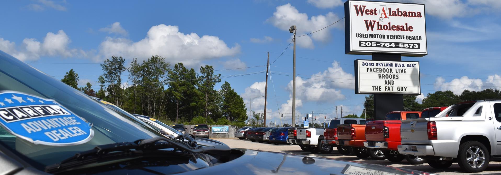 west alabama wholesale tuscaloosa al new used cars trucks sales service. Black Bedroom Furniture Sets. Home Design Ideas
