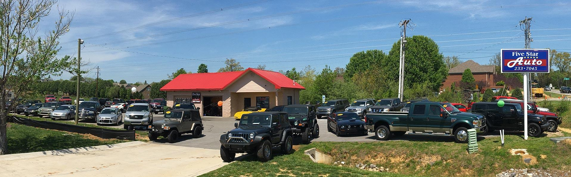 Maryville Auto Sales >> Used Cars Maryville Tn Used Cars Trucks Tn Five Star Auto Llc