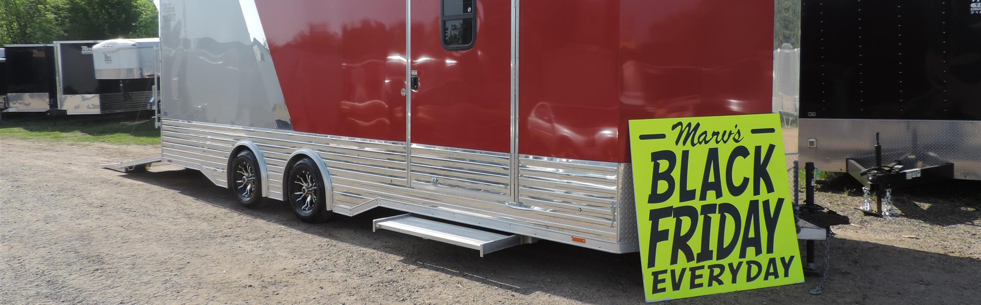 Marv's Trailers Celebrating Our 33rd Year