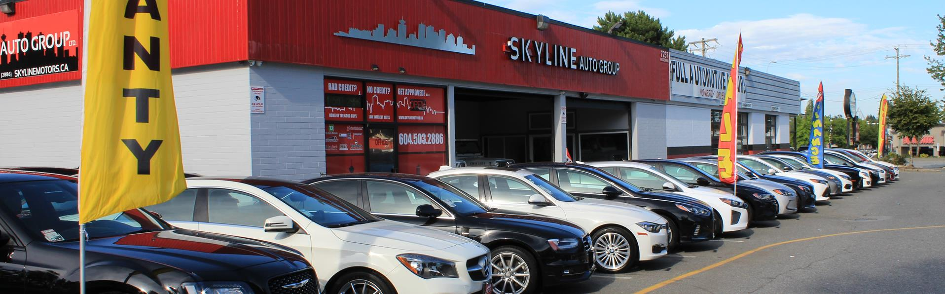 Car Dealer That Accept Bad Credit >> Used Cars Surrey Bc Used Cars Trucks Bc Skyline Auto