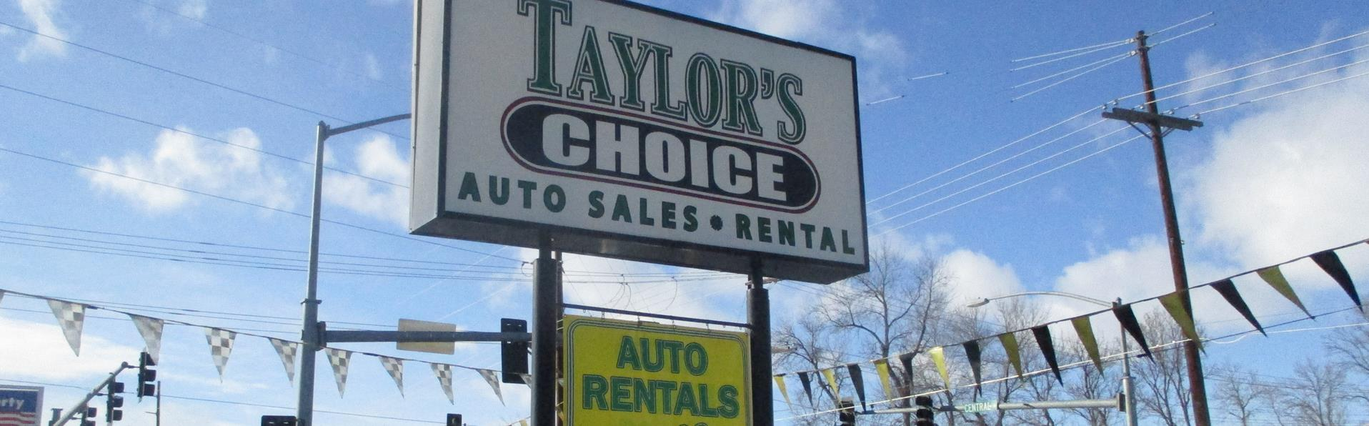 Used Car Dealerships In Billings Mt >> Used Cars Billings MT | Used Cars & Trucks MT | Taylor's Choice Auto Plaza