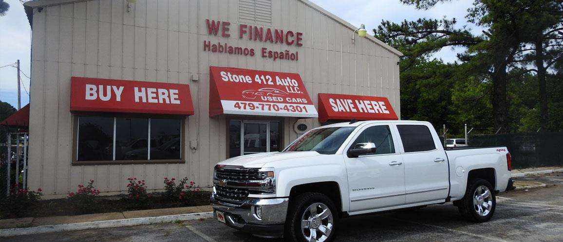 Used Trucks For Sale In Arkansas >> Used Cars Springdale Ar Used Cars Trucks Ar Stone 412 Auto
