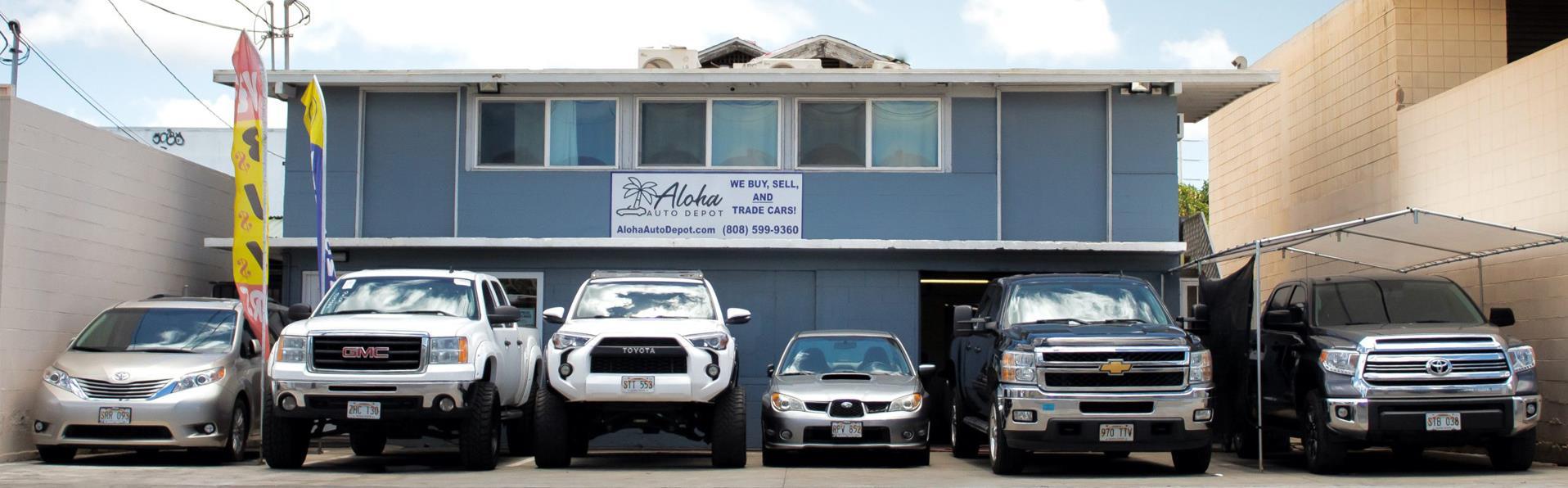Used Cars Honolulu Hi Used Cars Trucks Hi Aloha Auto Depot