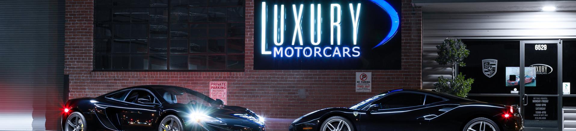 Used Cars Sacramento CA   Used Cars & Trucks CA   Luxury Motorcars LLC