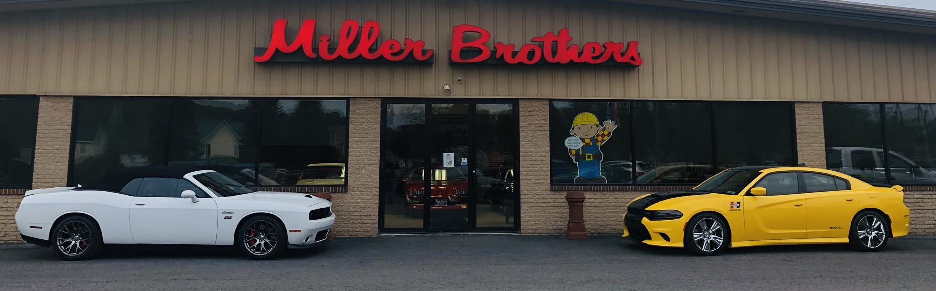 Brothers Auto Sales >> Used Cars Mill Hall Pa Used Cars Trucks Pa Miller