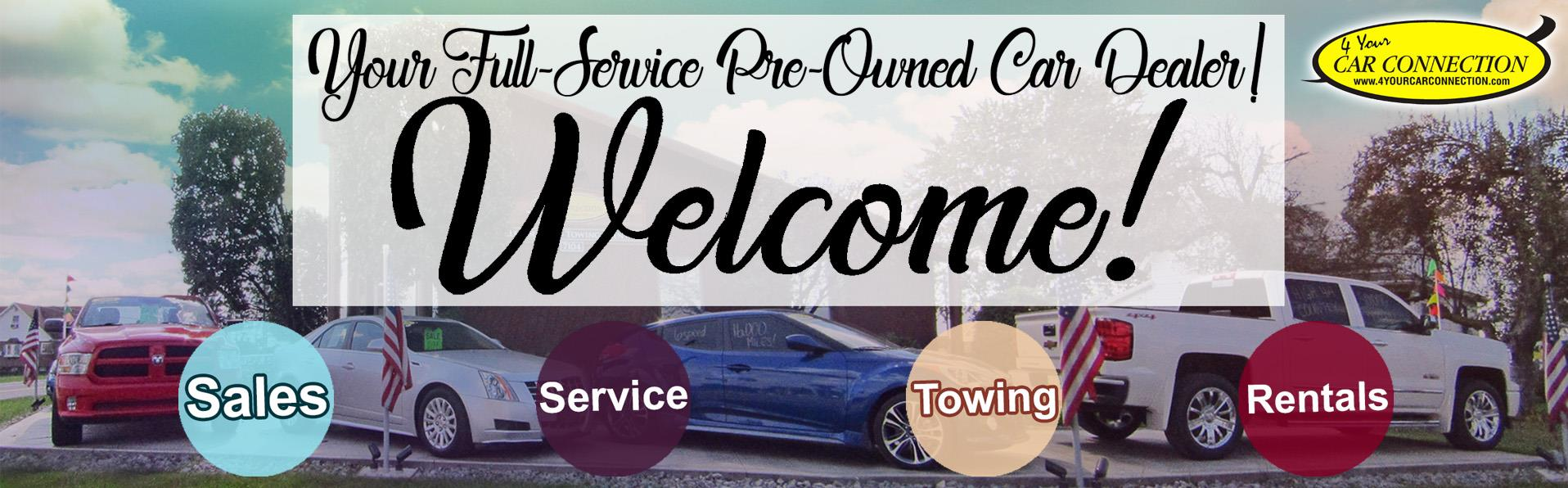 4 your car connection	  Used Cars Cranberry PA | Used Cars
