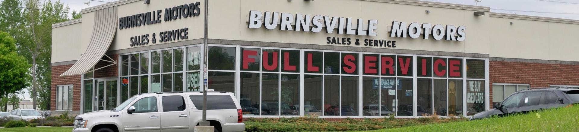 Auto Repair & Service Burnsville | Used Cars & Trucks