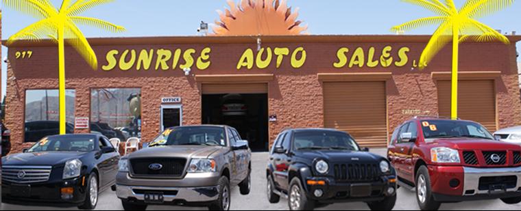 Cars For Sale In Las Vegas >> Used Cars Las Vegas Nv Used Cars Trucks Nv Sunrise Auto Sales