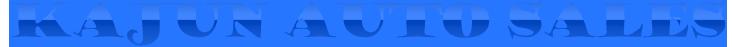 Kajun Auto Sales Logo