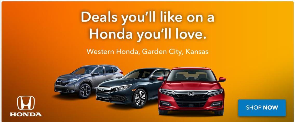 Western Honda Garden City KS | New U0026 Used Cars Trucks Sales U0026 Service