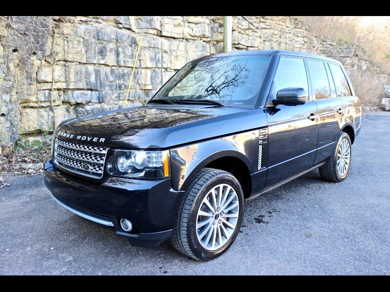 2012 Land Rover Range Rover Supercharged Silver Package