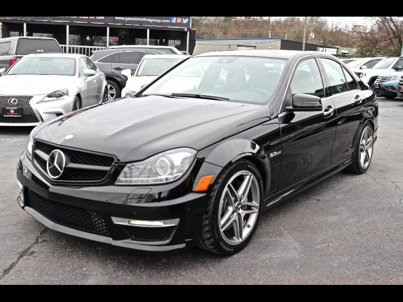 2014 Mercedes-Benz C-Class C63 AMG Sport Sedan